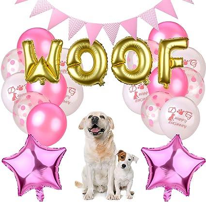 Apparel Accessories Legendog Dog Birthday Party Supplies Cat Hat Happy Balloons Banner Foil