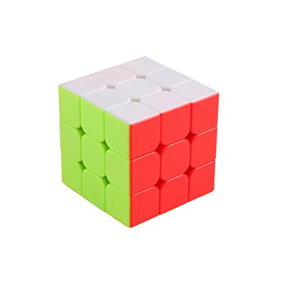 Project Flame 3x3x3 Cubic Fast and Smooth Magic Speed Cube Puzzle Stickerless, Best for Practicing and Contests: Toys & Games