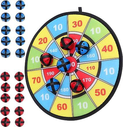 Kinder Stoff Dart Board Spiel mit Klebrige Kugel Klassische Spiele für