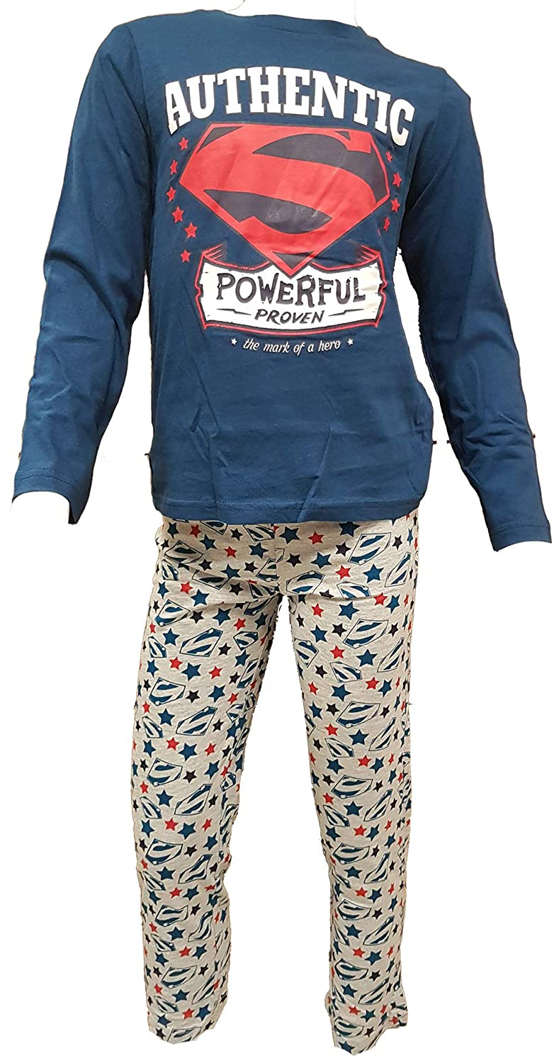 Simpsons Pajama Set for Boys Licence in Cotton: Diney Mickey Star Wars.