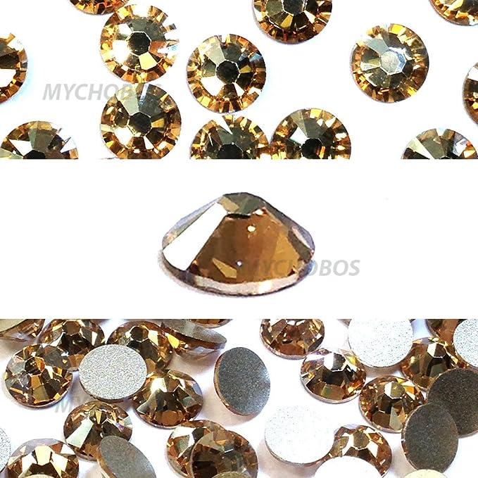 b0e48a42a 144 pcs Crystal Golden Shadow (001 GSHA) Swarovski 2058 Xilion / NEW 2088  Xirius 20ss Flatbacks No Hotfix nail art Rhinestones 5mm ss20 **FREE  Shipping from ...