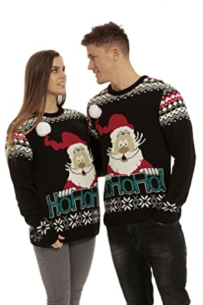 Femmes Pull Hommes Be Avec Modèle Tricot Unisexe Noël Jealous Père pIx5qX