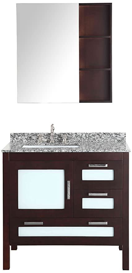 Bosconi Bathroom Vanities Sb 251 1 Contemporary Single Vanity With
