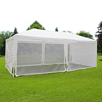 Quictent Outdoor Canopy Gazebo Party Wedding tent Screen House Sun Shade Shelter with Fully Enclosed Mesh  sc 1 st  Amazon.com & Amazon.com: Quictent Outdoor Canopy Gazebo Party Wedding tent ...
