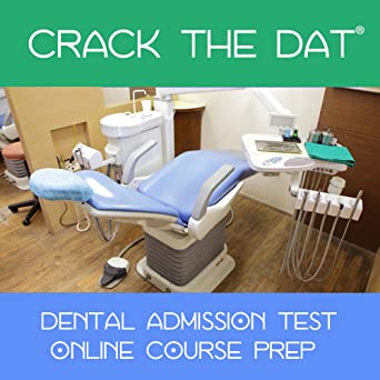 Amazon com: Crack the DAT - Simulate the Dental Admission Test (2019