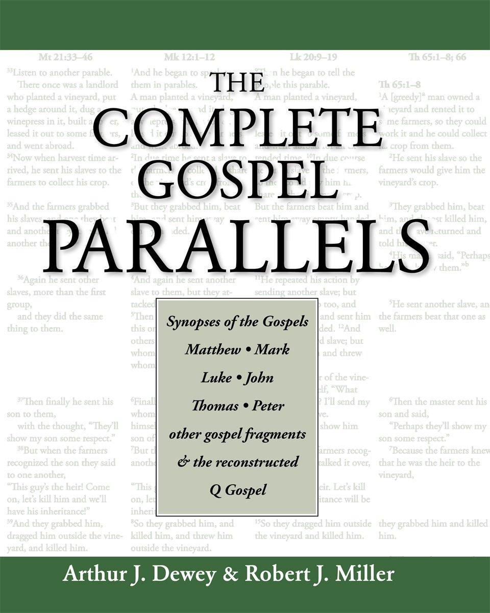 Download The Complete Gospel Parallels PDF