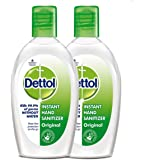 Dettol Instant Hand Sanitizer - 50 ml (Pack of 2 at Rupees 99)