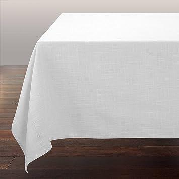 nappe rectangulaire blanche. Black Bedroom Furniture Sets. Home Design Ideas