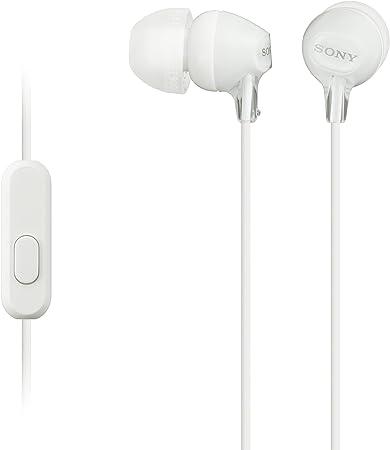 Sony Mdr Ex15ap In Ear Kopfhörer Weiß Elektronik