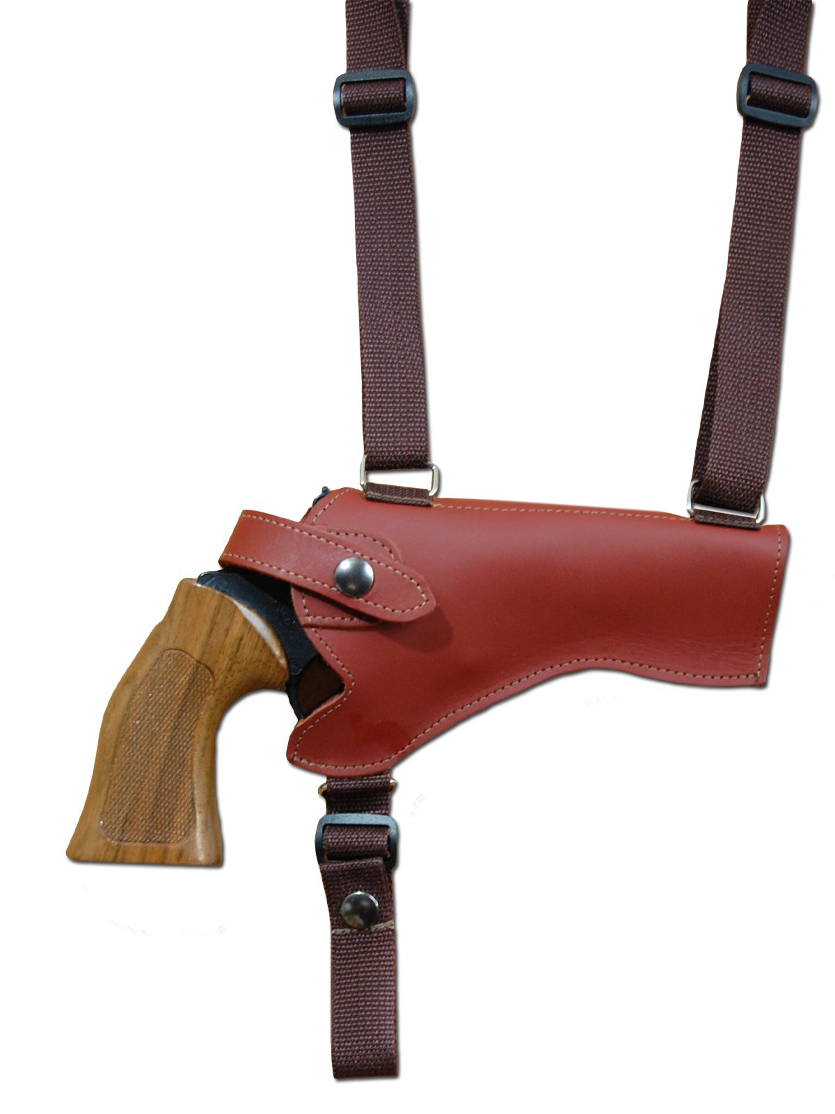 "NEW Barsony Burgundy Leather Vertical Shoulder Holster Llama Freedom 4/"" Revolver"