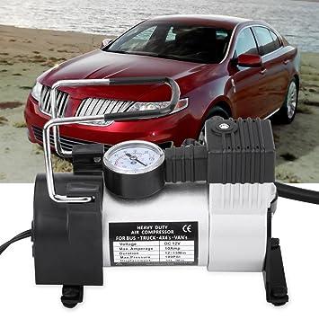 Zerone Compresor de aire para coches de uso múltiple, inflador de aire de 12 V 100 PSI, compresores de aire portátiles, bomba de aire: Amazon.es: Coche y ...