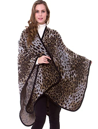 2fe04e1c3 sunseen Women's Multifunctional Shawl Wrap Oversized Poncho Cape Unique  Blanket Scarf Soft Winter Pashmina Cardigans (