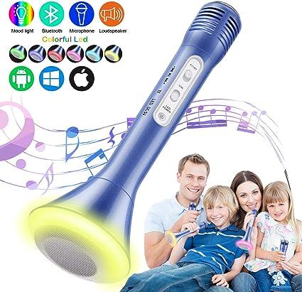 Amazon.com: Micrófono de karaoke Tencoz para niños ...