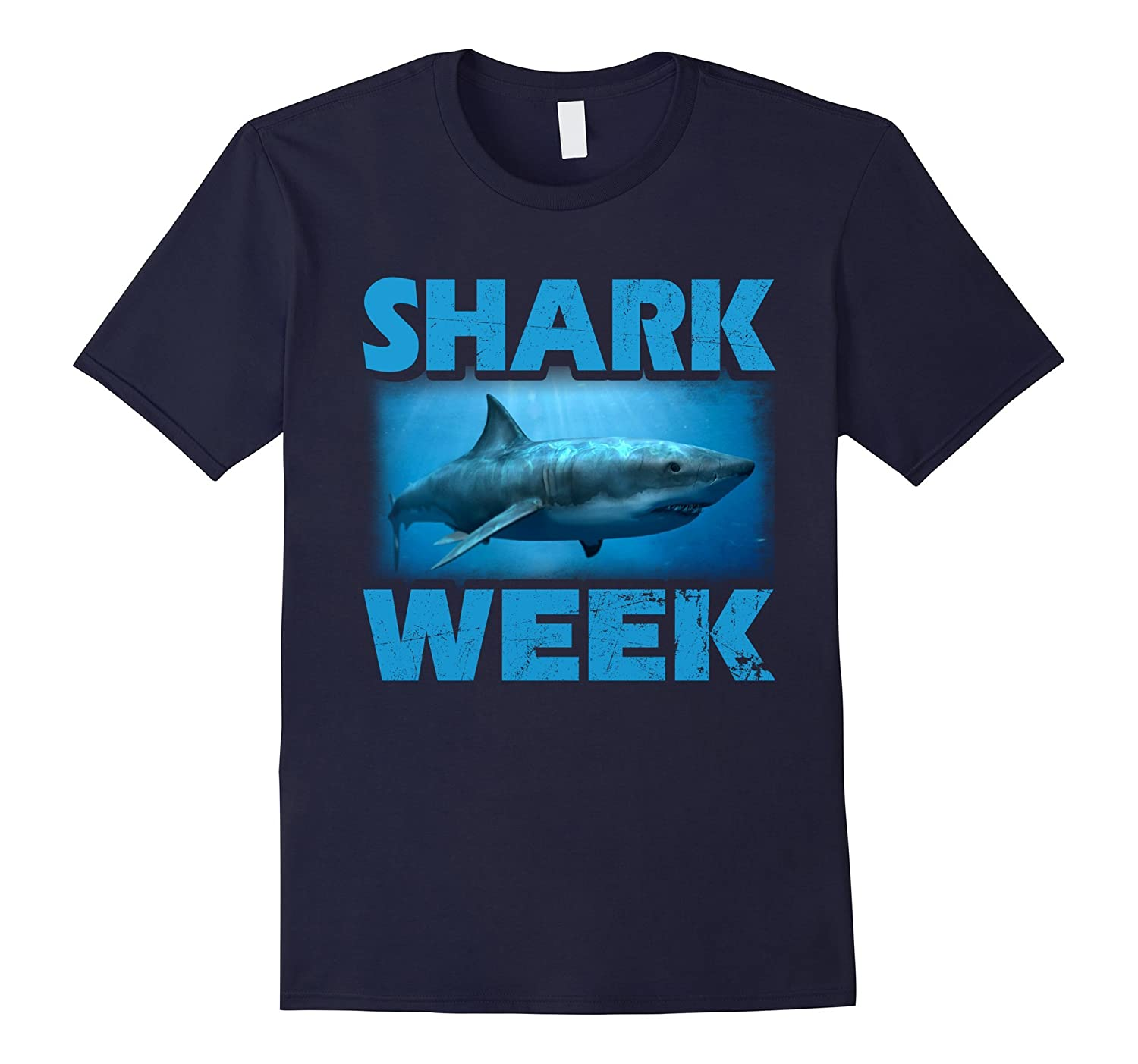 Week Of The Shark - New 2017 Graphic Funny T-Shirt-Art
