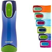 Contigo Swish Autoseal Drinkfles, grote BPA-vrije kunststof waterfles, lekvrij, voor sport, fietsen, joggen, wandelen…