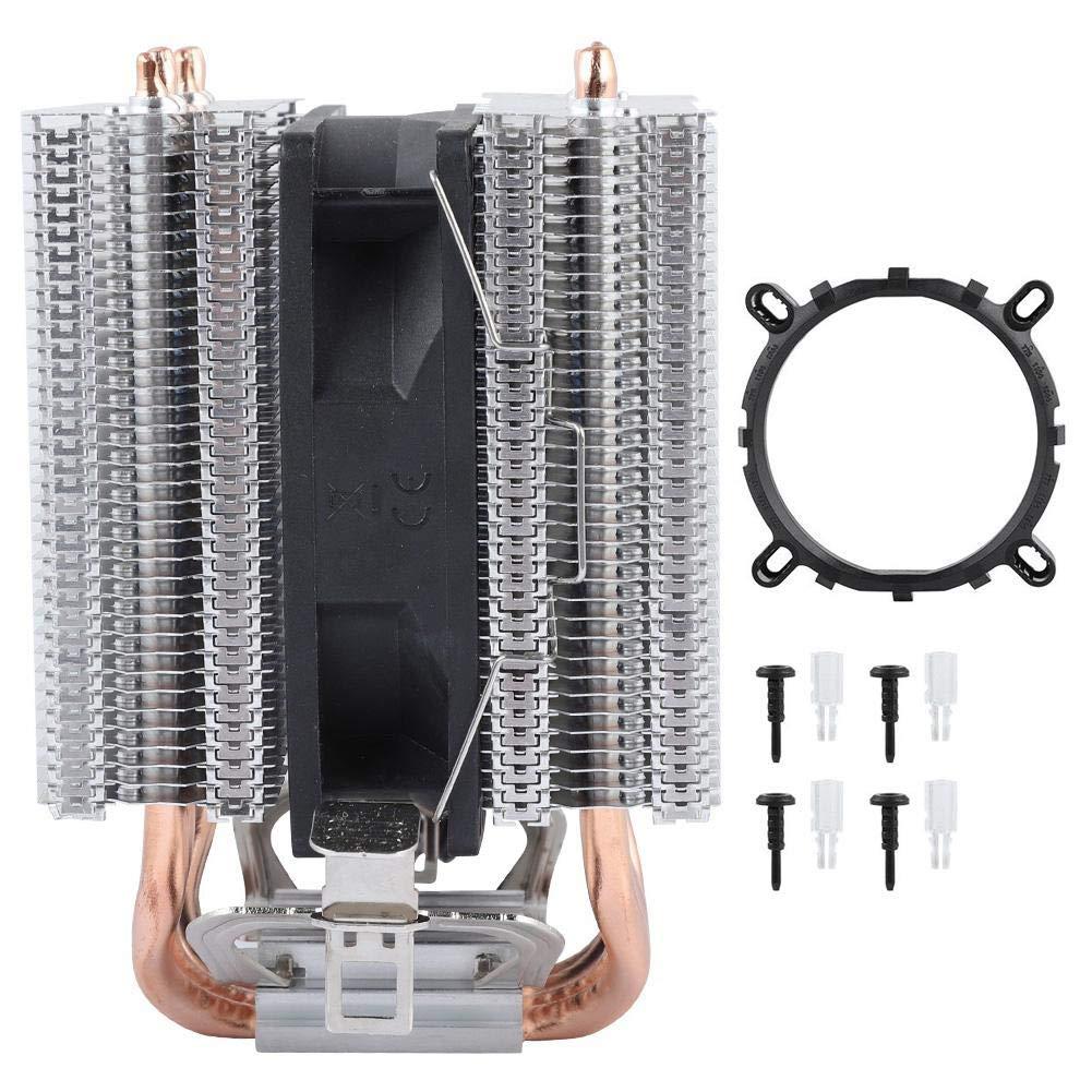 Rot Licht ASHATA Prozessork/ühler CPU K/ühler CPU L/üfter Fl/üsterleiser Prozessork/ühler 4 W/ärmer/öhre,LED Licht CPU Ventilator 48CFM PWM L/üfter CPU K/ühler f/ür Intel LGA 1156//1155//1150//775 und AMD