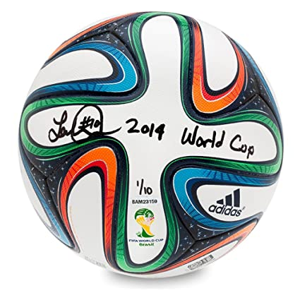 competitive price 13539 6a8a6 LANDON DONOVAN AUTOGRAPHED  INSCRIBED ADIDAS BRAZUCA 2014 FIFA WORLD CUP  MATCH BALL UDA LE 10 at Amazons Sports Collectibles Store