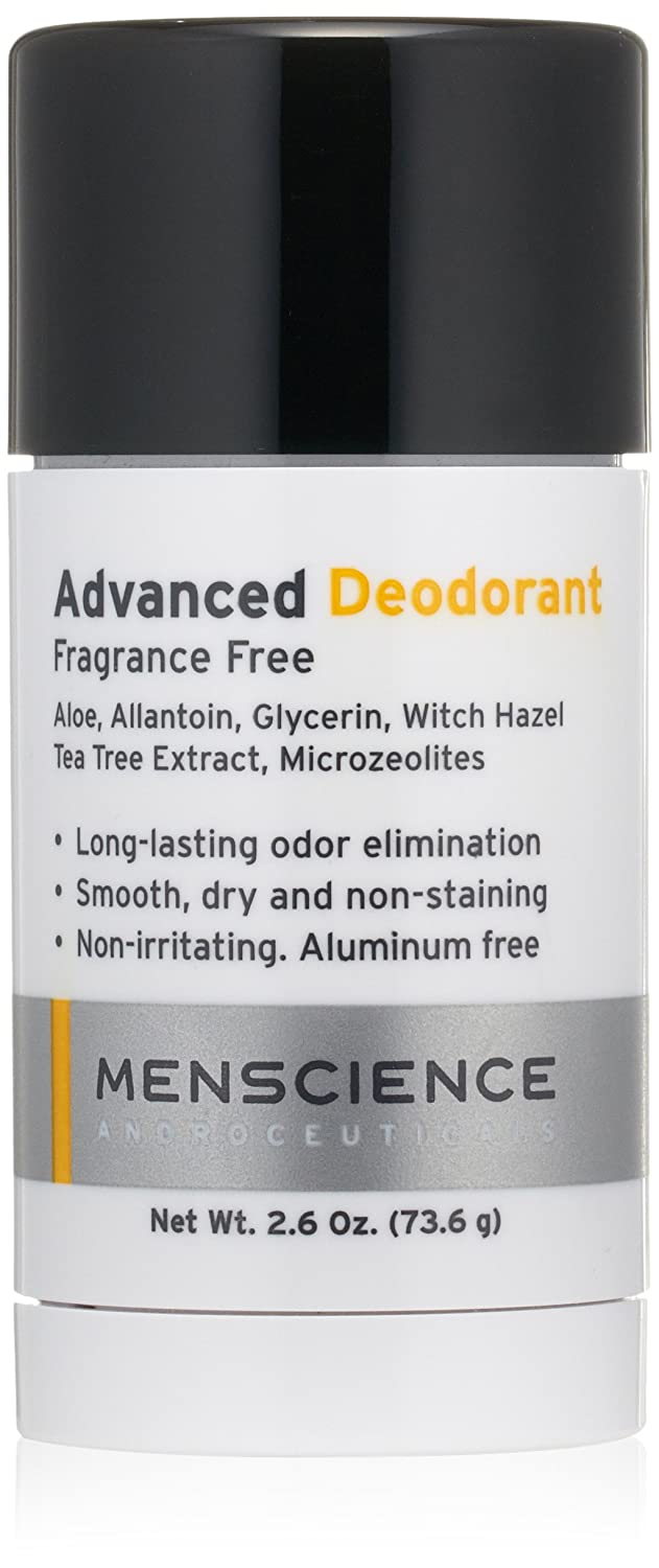 Men Science Androceuticals Advanced Deodorant, 2.6 Oz. by Menscience Androceuticals