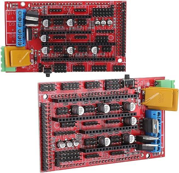Wendry Accesorios de Impresora 3D 2560R3 Master Control Board + ...