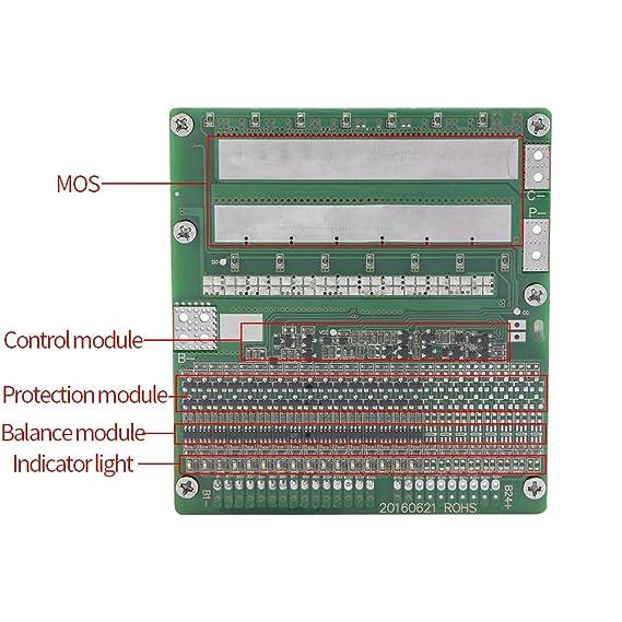 akozon protection board 36v 20a 10s lithium li ion lifepo4 battery
