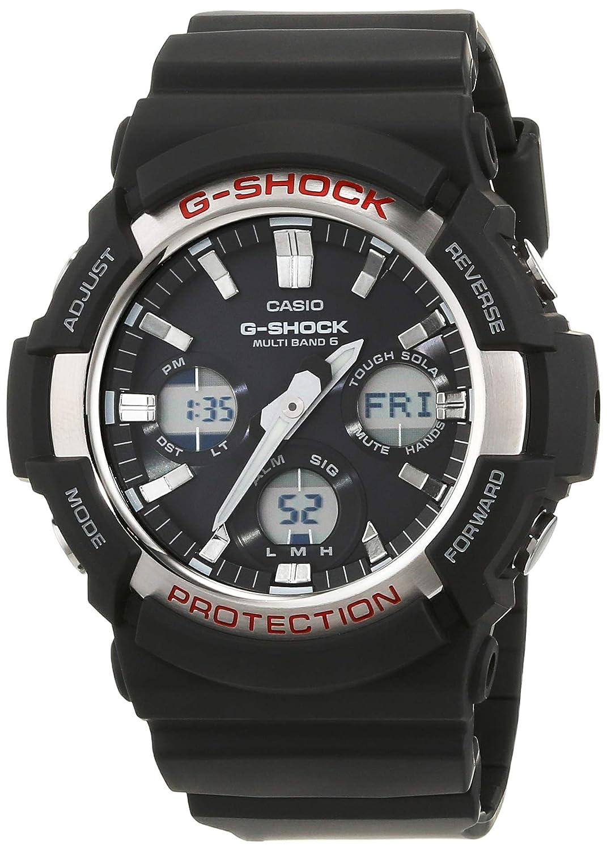 Casio Reloj Analogico-Digital para Hombre de Cuarzo con Correa en Resina GAW-100-1AER: Amazon.es: Relojes