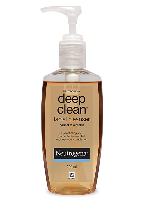 Neutrogena Deep Clean Facial Cleanser, 200ml