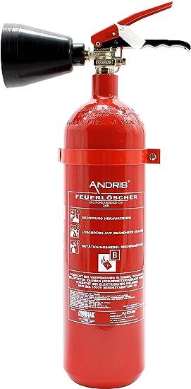 2x Feuerlöscher 2kg Co2 Kohlendioxid Edv Geeignet En 3 Inkl Andris Prüfnachweis Mit Jahresmarke Baumarkt