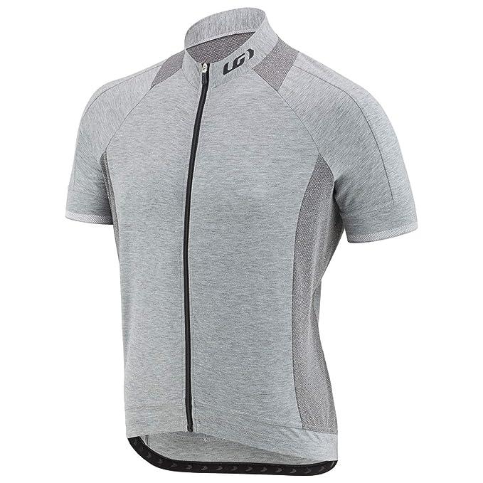 Louis Garneau Men's Lemmon 2 Lightweight, Short Sleeve, Full Zip Cycling Jersey