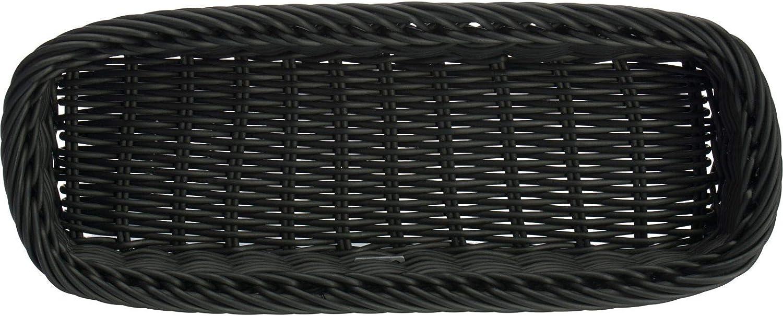 Rechteckig Dunkelbraun Kunststofffaser 02016806101 Gastrotauglich Saleen Besteck-Korb mit 4 F/ächern 39,5 x 28 x 8,5 cm