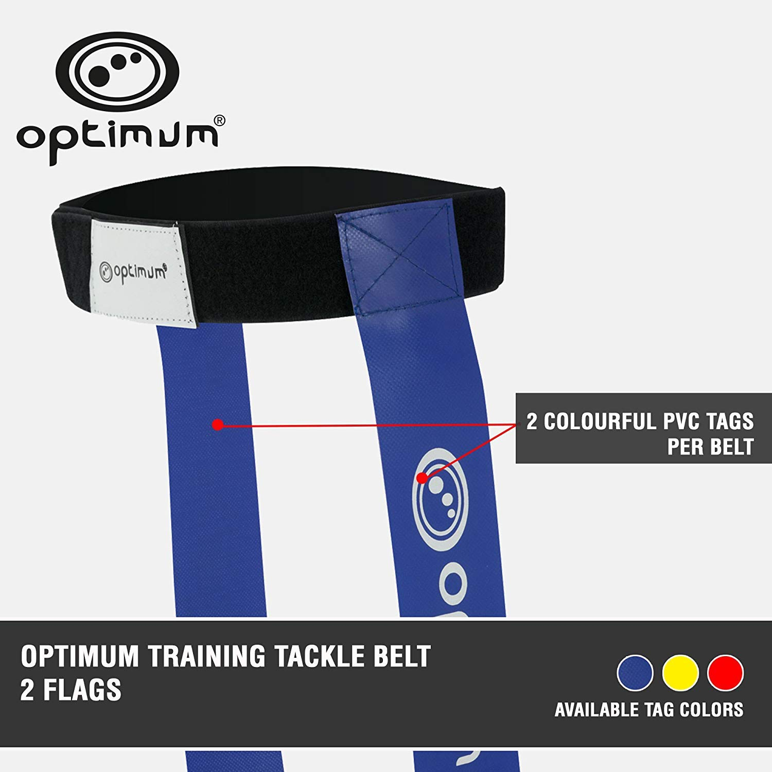 Optimum TBFB Touch Rugby Tackle Tag Belt Flags
