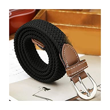 Mens Waist Belt Boys Pin Buckle Belt Adjustable Strap Waistband Unisex Belt