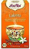 Yogi Tee BIO Lakritz Tee, 17 Btl. à 1,8g (frachtfreie Lieferung innerhalb Deutschlands ab 20 EUR Einkaufswert) (1)