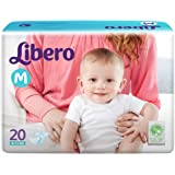 Libero Medium Size Diapers (20 Counts)