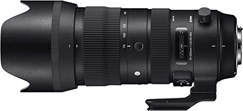 Canon EF-S 15-85mm f/3.5-5.6 IS USM UD Standard Zoom LensSigma 70-200mm F2.8 Sports DG OS HSM for Canon Mount