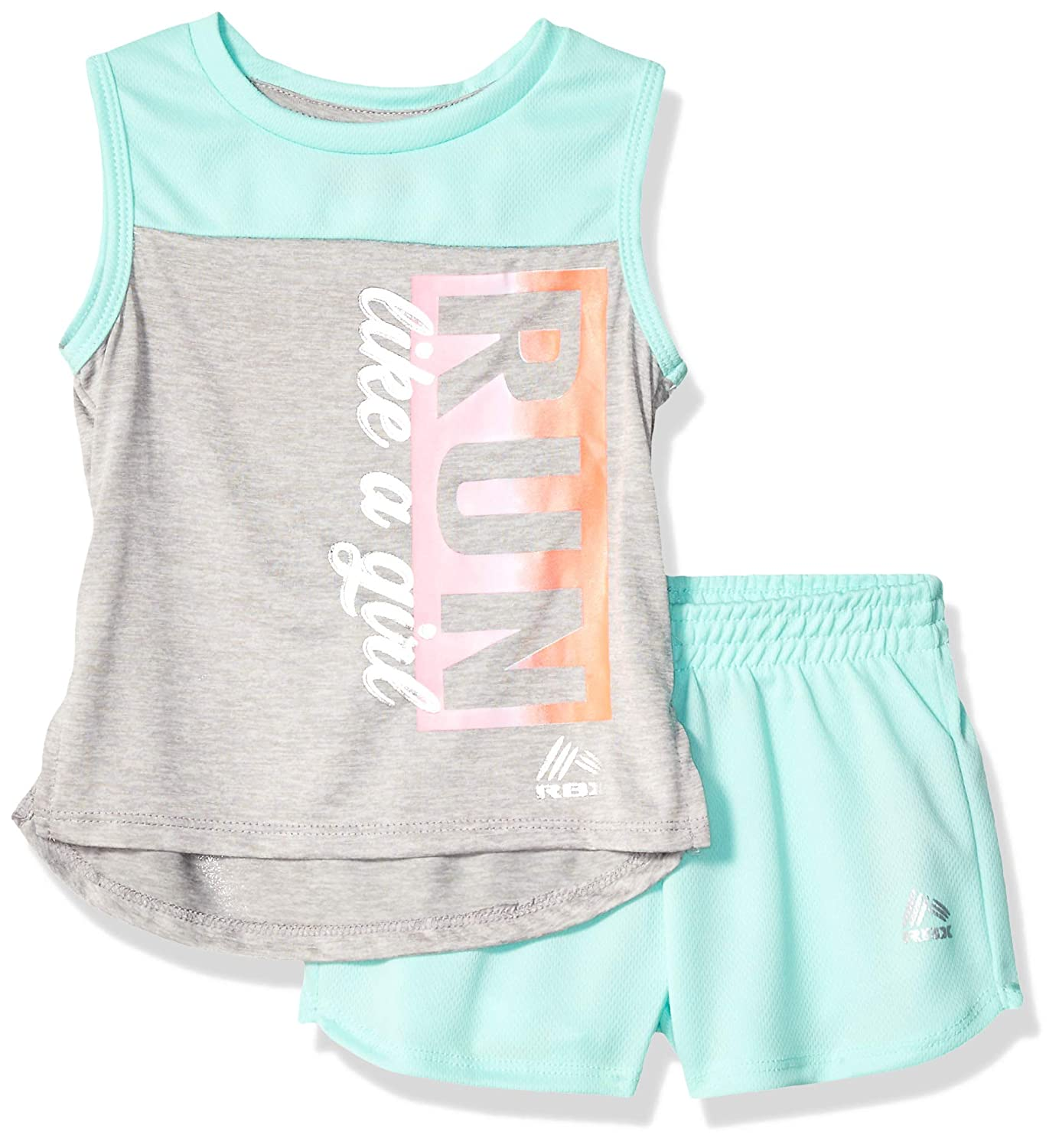 RBX 2pc Set-Girls Active Tank Short