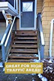 Black Grip Strip Max Stair Treads Non Slip, Screw