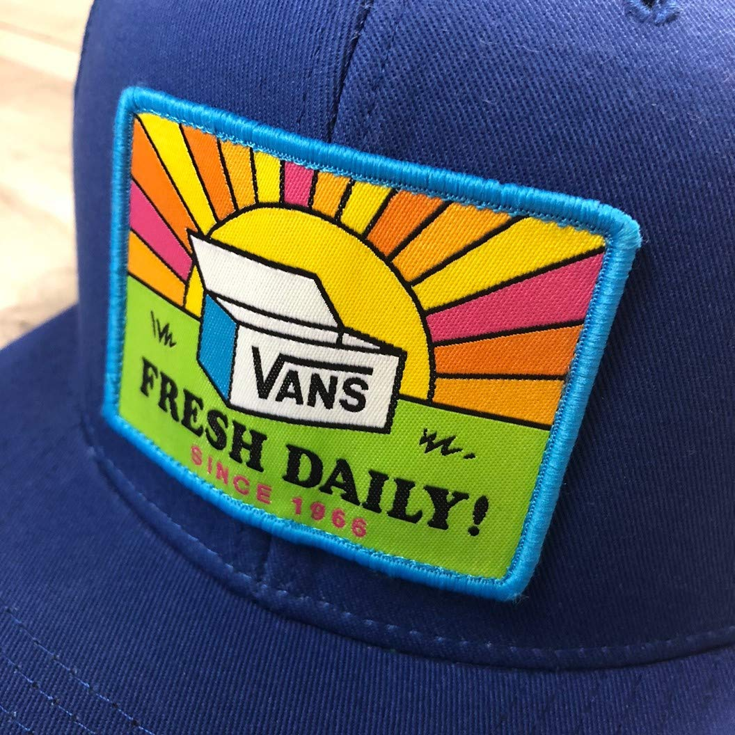 Vans Men s Fresh Day-B Snapback Hat Blue One-Size VN0A3DL27WM at Amazon  Men s Clothing store  61b520d4a383