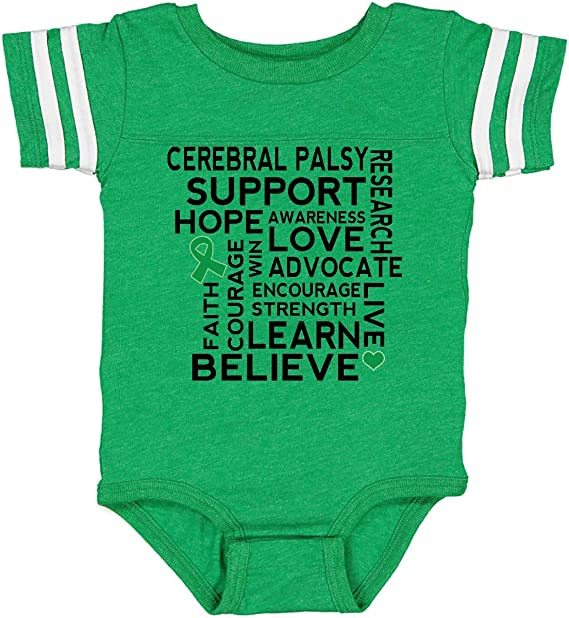 Liver Cancer Awareness Green Ribbon Baby T-Shirt inktastic Fighting Together