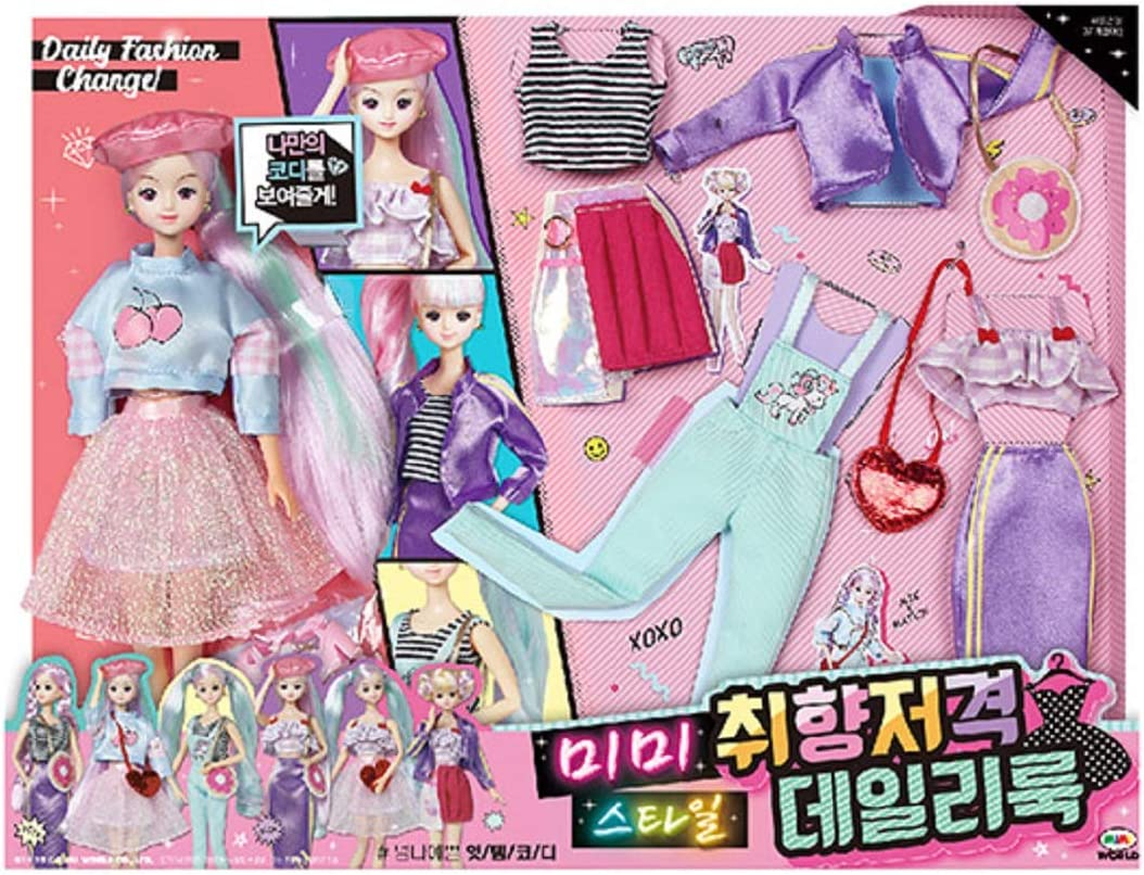 NOT INCLUDE DOLL MIMIWORLD Fashion Clothes British Style