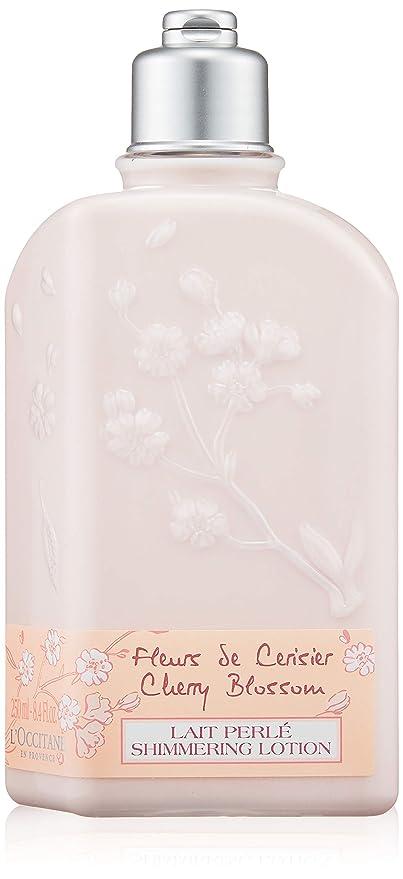 Leche Perlada Flores de Cerezo - 250 ml - LOCCITANE
