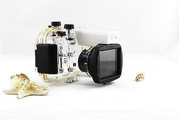 carcasa submarina para cámara Canon PowerShot G1X WP-DC44 - Carcasa acuática para cámaras