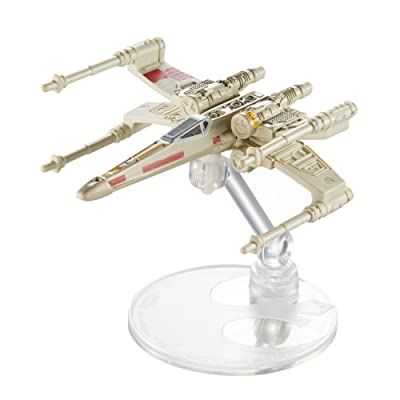 Hot Wheels Star Wars X-Wing Fighter Vehicle: Toys & Games