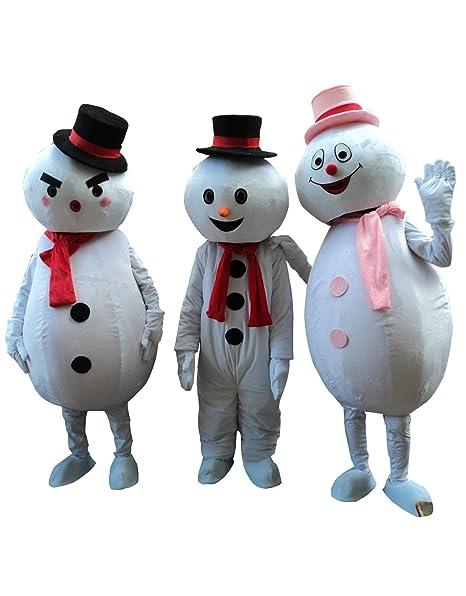 Amazon.com: sinoocean muñeco de nieve hombre de nieve adulto ...