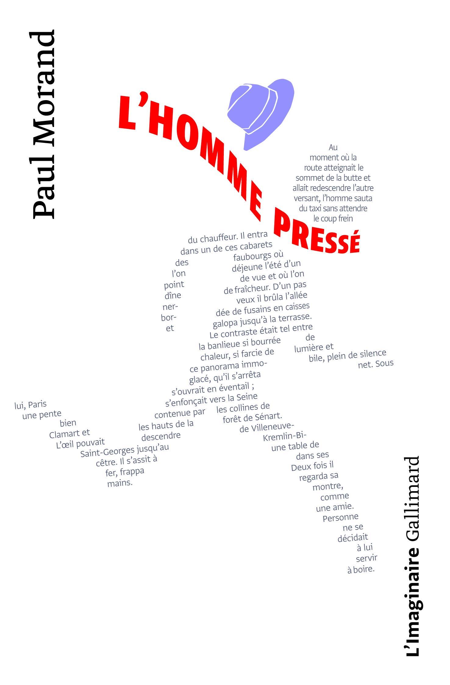 Amazon.fr - L'homme pressé - Morand, Paul - Livres