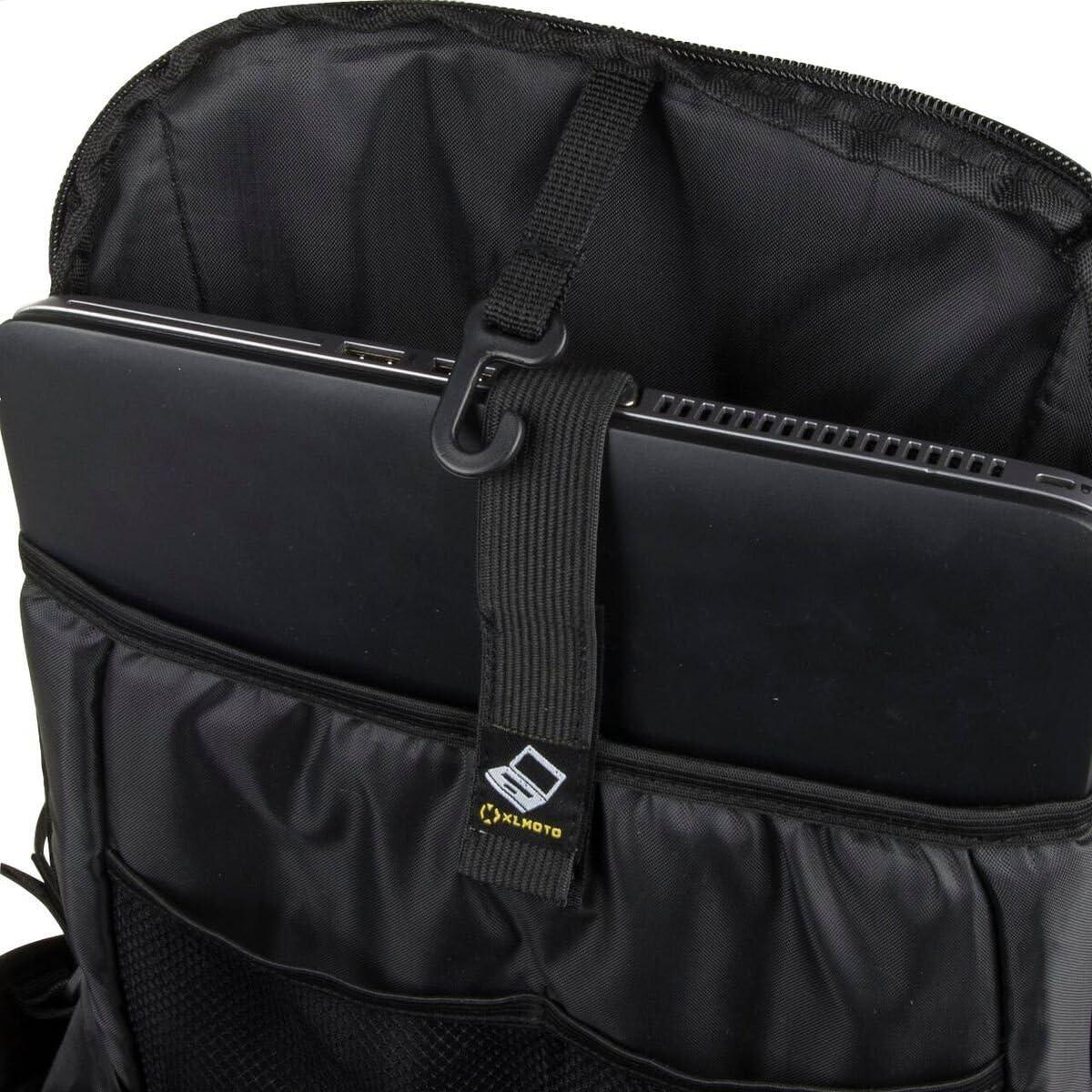 Xlmoto Slipstream Water Resistant Backpack 24l Black Bekleidung