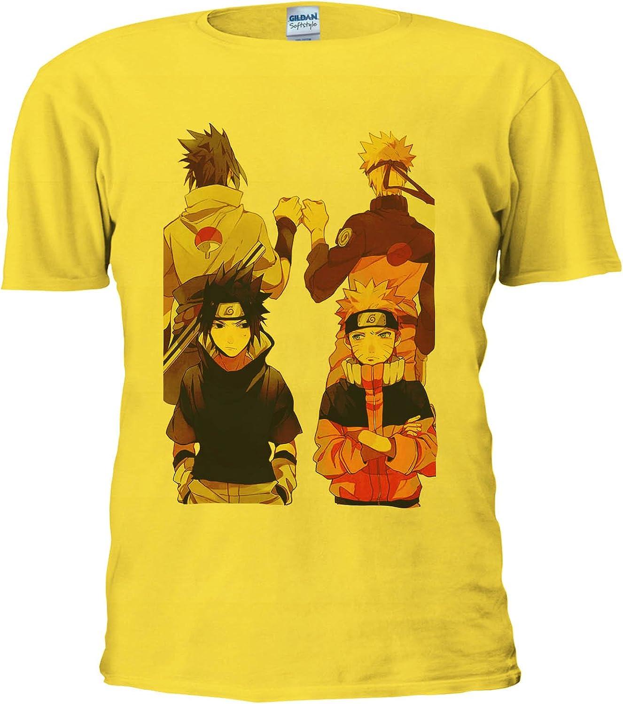 Naruto Anime Japanese Manga Anime Cool Team Men Women Unisex Top T Shirt