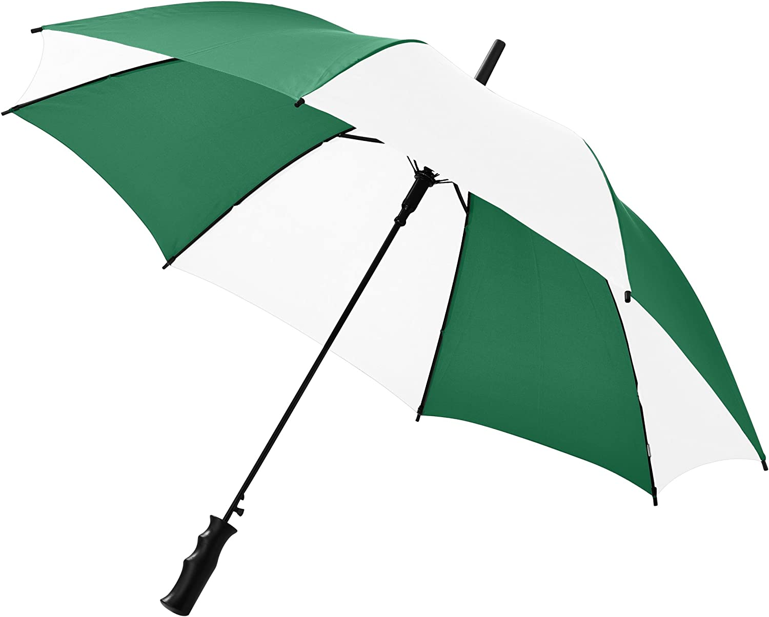 Green,White Bullet 23 Inch Barry Automatic Umbrella 31.5 x 41.3 inches