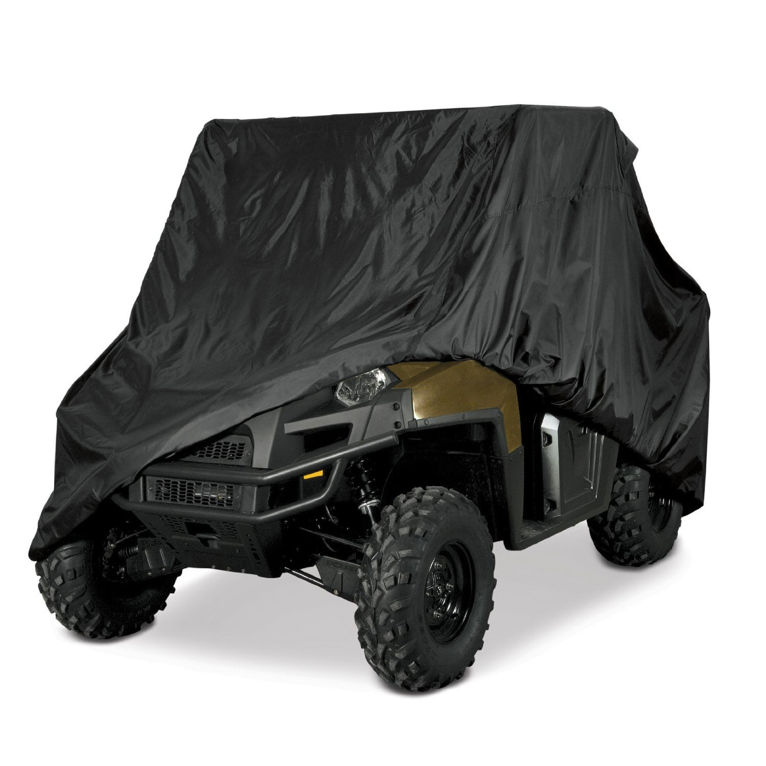UTV HEAVY DUTY WATERPROOF UTV SIDE BY SIDE COVER COVERS FITS UP TO 120'L W/ ROLL CAGE ATV COVER RHINO RANGER MULE GATOR PROWLER RAZOR RECON RZR PIONEER Viking Wolverine Can am Defender Wildcat HDX Rugged Covers