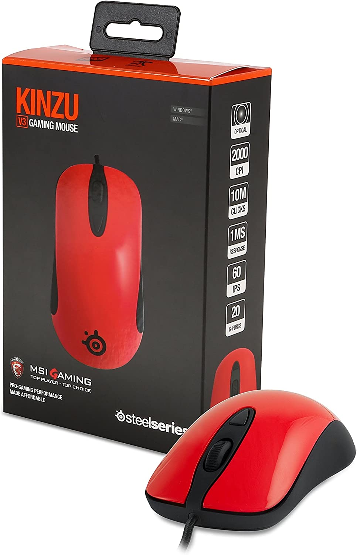 MSI GS Xmas Pack - Pack de Gaming (Mochila, ratón KINZU V3, Llavero dragón, I-Key) Color Gris y Rojo: Amazon.es: Informática