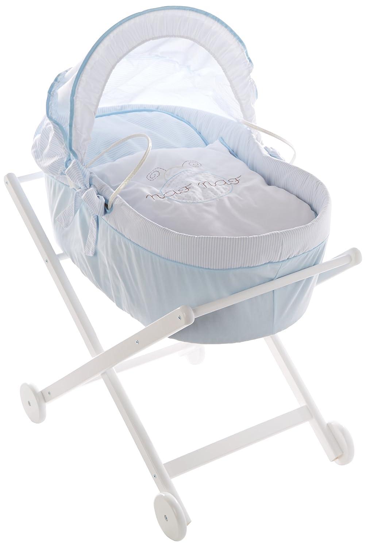 Naf 32108 Babytragekorb und Struktur des holzes Design Ladybird 100% Baumwolle